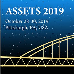 The ASSETS'19 logo