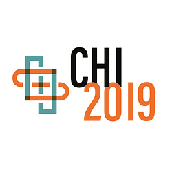 The CHI'19 conference logo