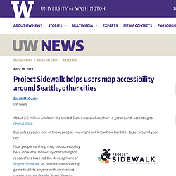 UW Newspage screenshot